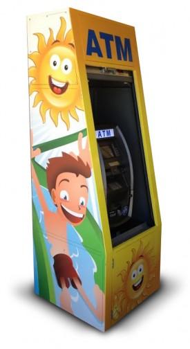 Custom ATM wrap