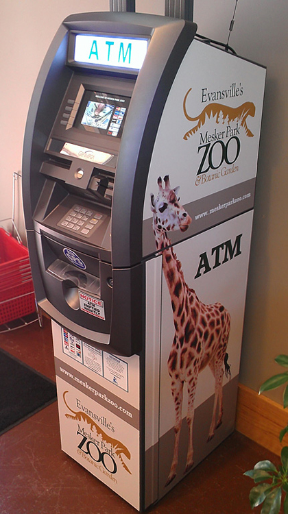 Custom Atm Wraps Graphics Branding Signage